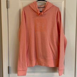 Underarmour 2xl NWOT melon colored hoodie